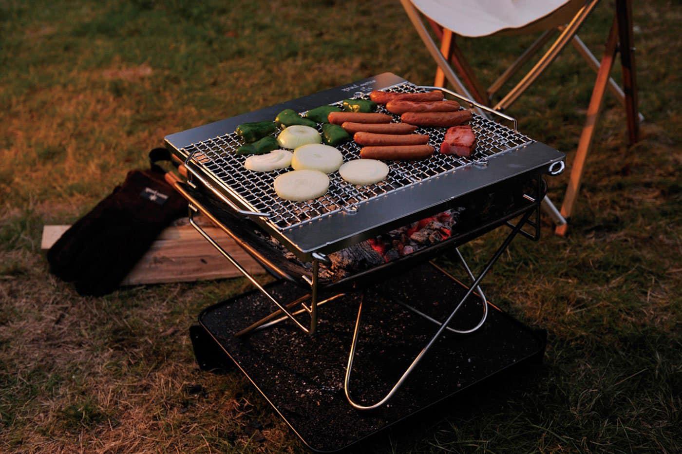 Loại bếp nướng đạt chuẩn dành riêng cho cắm trại dã ngoại